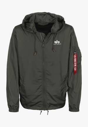 WINDBREAKER - Windjack - greyblack
