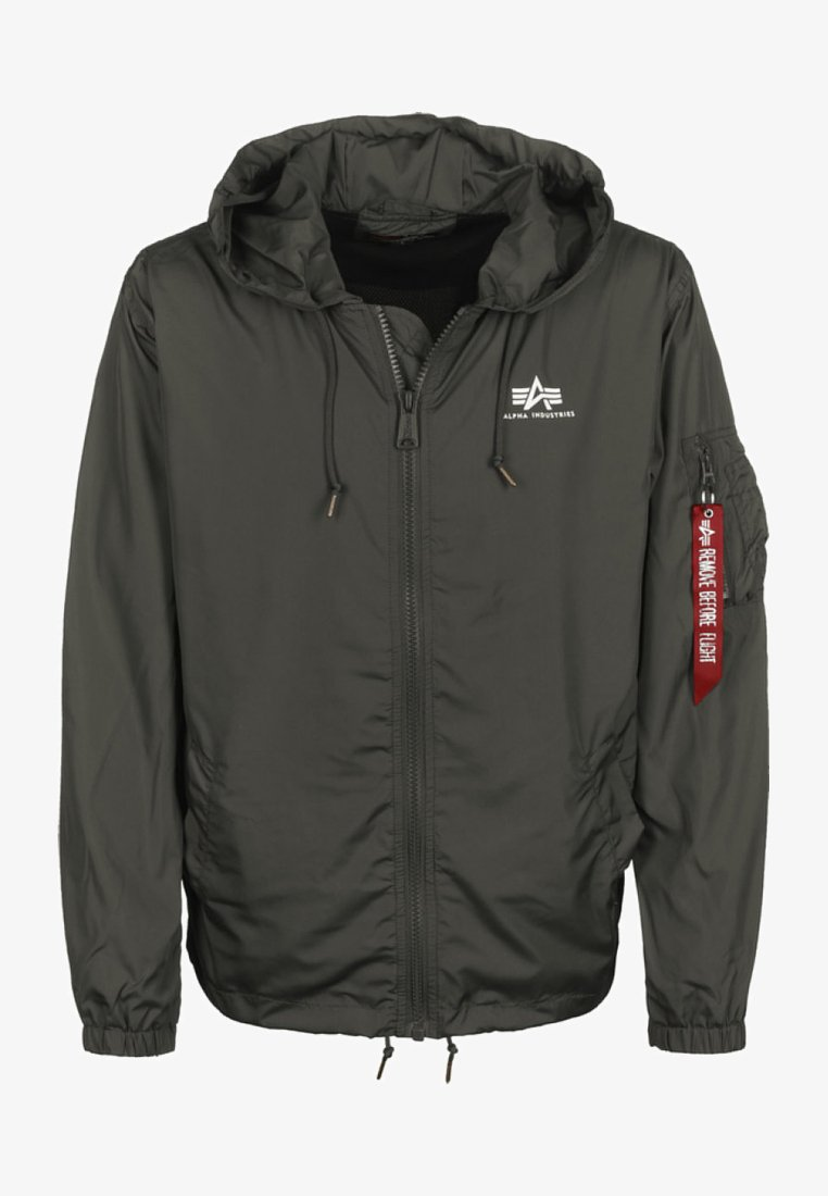 Alpha Industries - WINDBREAKER - Windbreaker - greyblack