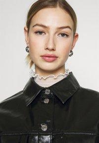 Weekday - KEISHA  - Button-down blouse - black - 5