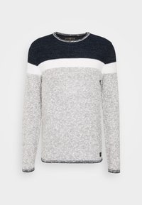 LEWIS ROUND NECK - Jumper - navy