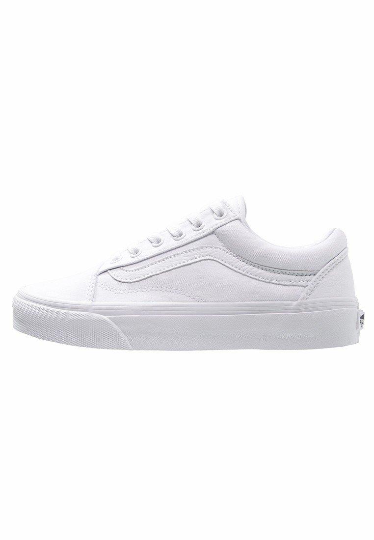 vans blanche old school
