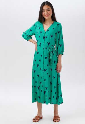 COURTNEY HEARTS - Day dress - green