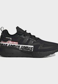 adidas Originals - ZX 2K BOOST SHOES - Sneakers basse - black - 7