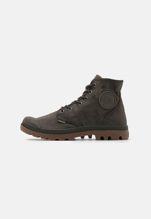 PALLABROUSE WAX UNISEX - Lace-up ankle boots - major brown