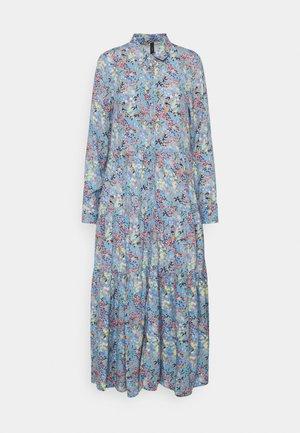 YASSANTOS LONG DRESS - Maxikjole - dusk blue/santos