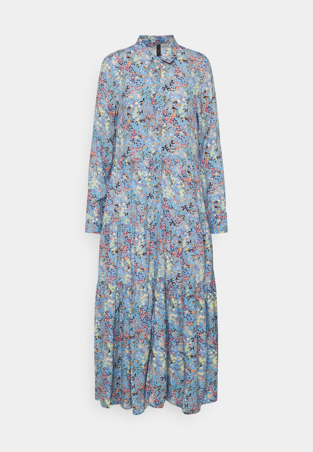 YASSANTOS LONG DRESS - Maxi dress - dusk blue/santos
