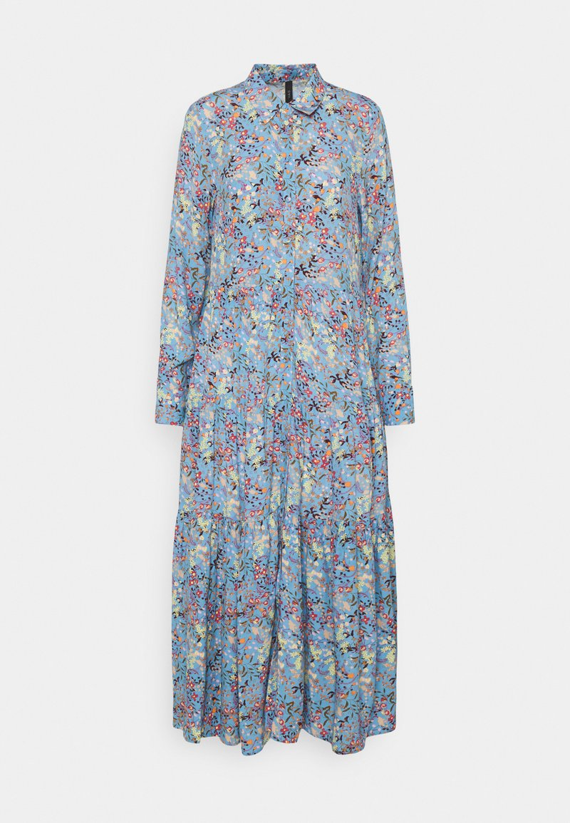 YAS - YASSANTOS LONG DRESS - Maxi dress - dusk blue/santos