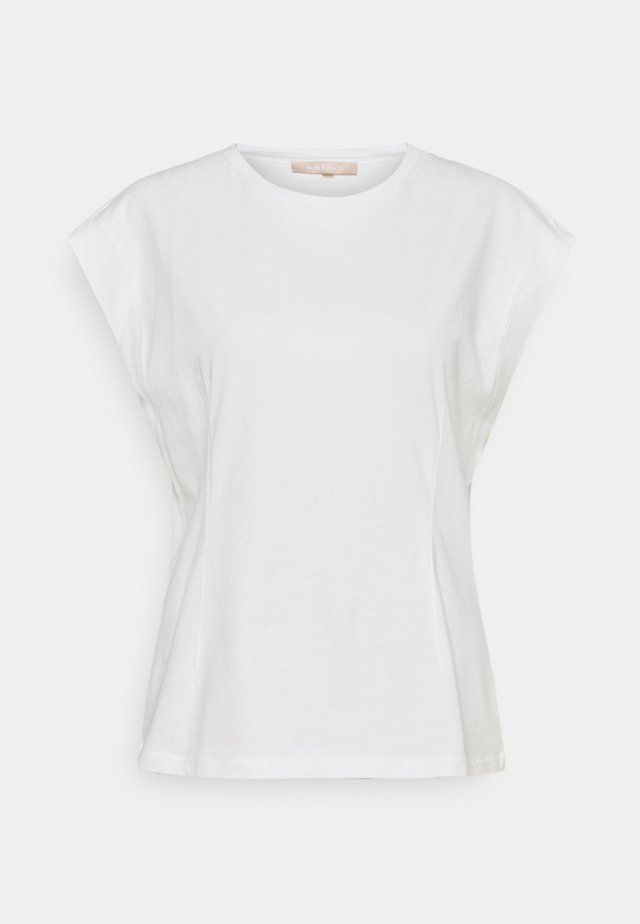 WINONA - Basic T-shirt - snow white/off white