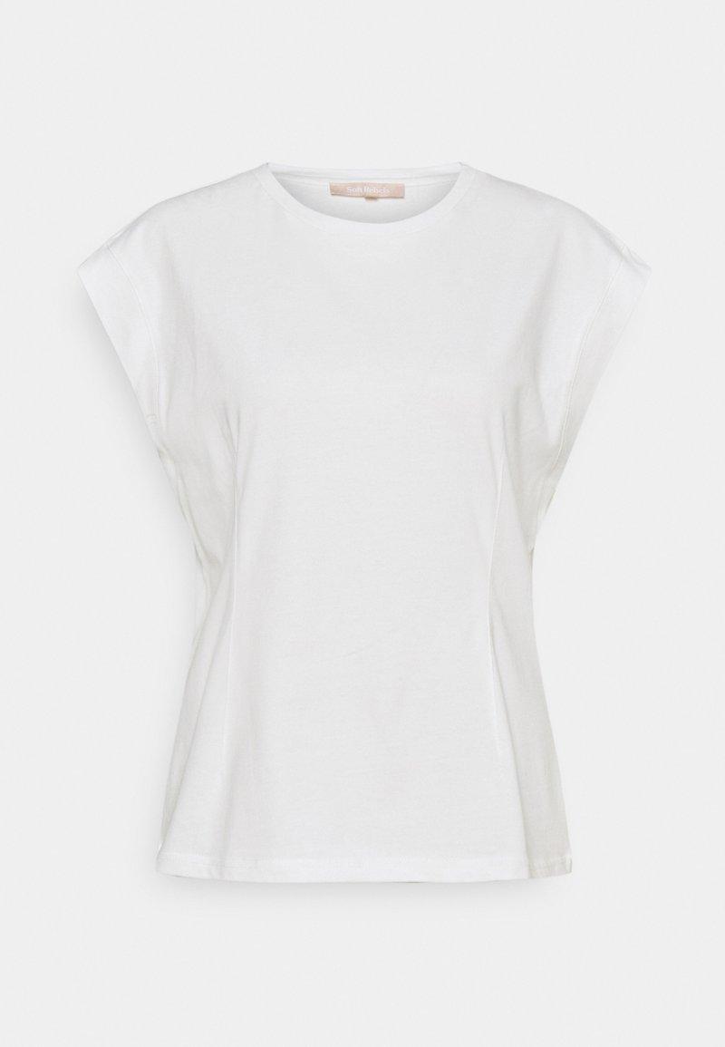 Soft Rebels - WINONA - Basic T-shirt - snow white/off white