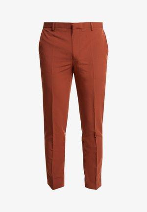 CONKER STRETCH - Oblekové kalhoty - brown