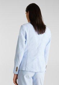 Esprit - CHAMBRAY - Blazer - light blue - 2