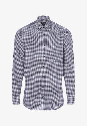Shirt - marine weiß