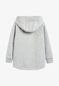 Next - BLACK SPORTS ZIP THROUGH - Zip-up hoodie - grey - 1