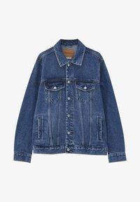 PULL&BEAR - Džínová bunda - blue denim - 5