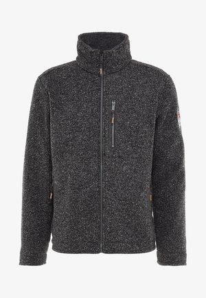 MAN JACKET - Fleece jacket - carbone