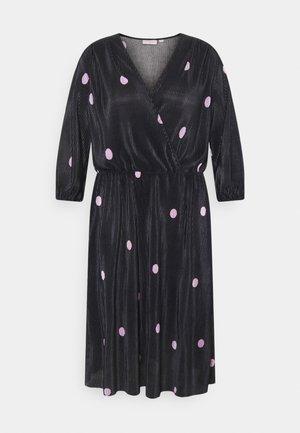 CARLENA BALOON DRESS - Korte jurk - black