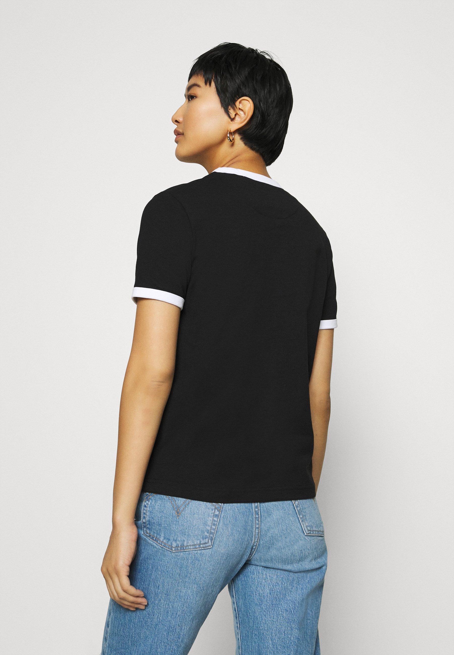 Lyle & Scott Ringer - T-shirts Med Print Jet Black/svart