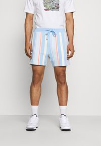 Tommy Jeans - STRIPE SHORT - Shorts - light powdery blue - 0