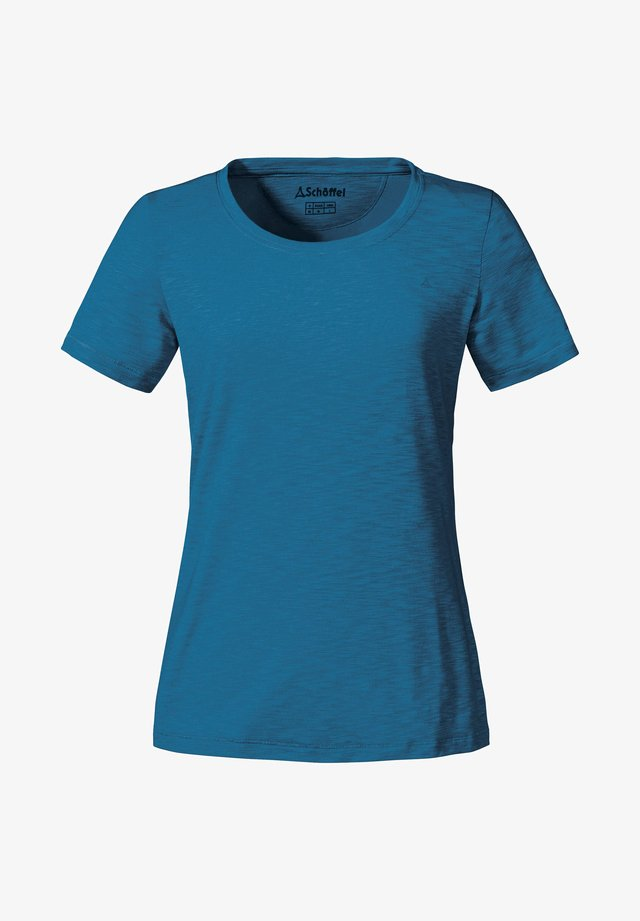 """VERVIERS2"" - Basic T-shirt - blau"