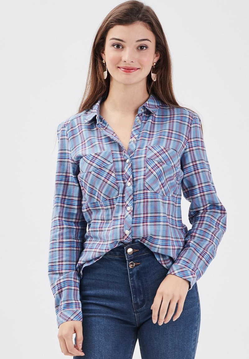 Cache Cache - Button-down blouse - bleu