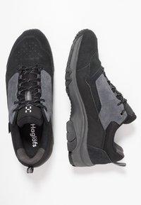 Haglöfs - Hiking shoes - true black/magnetite - 1