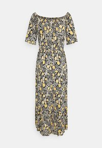 LASCANA - Jersey dress - schwarz/gelb - 4