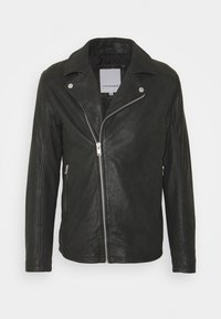 Lindbergh - BIKER JACKET - Leather jacket - black - 7