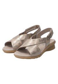 Mephisto - SANDALETTE PHARA - Sandals - dark taupe - 5