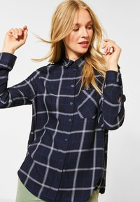 Street One - Button-down blouse - blau - 0