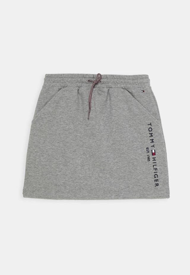 ESSENTIAL SKIRT - Minirock - grey