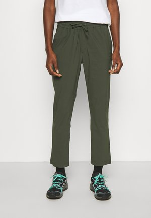 Outdoor trousers - thrill green