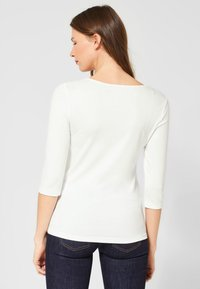 Street One - Long sleeved top - white - 2