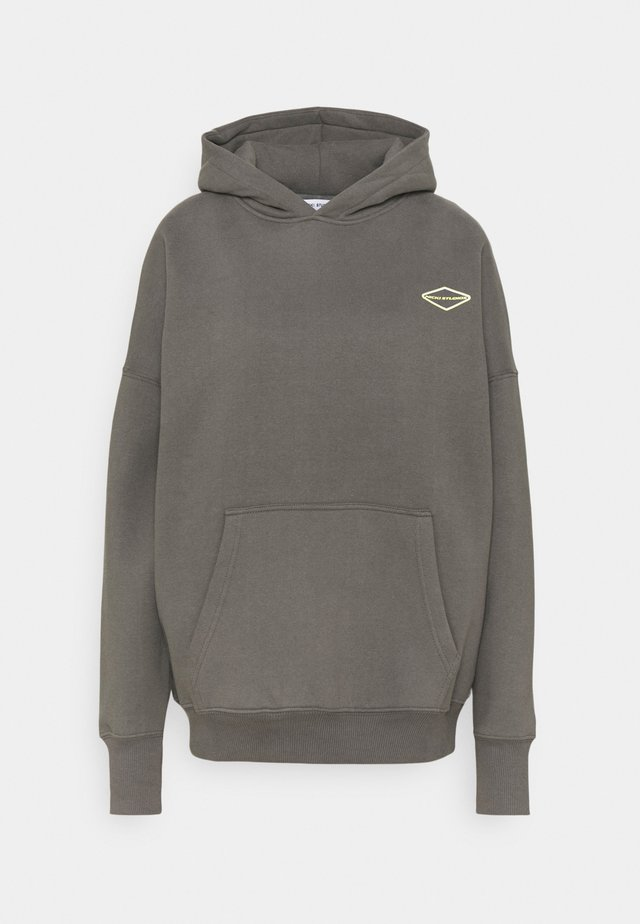 LOGOHOODIE - Sweatshirt - shadowgrey