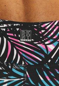 DKNY - HIGH RISE 7/8 TROPIC SHADOW PRINT - Leggings - laser pink - 4