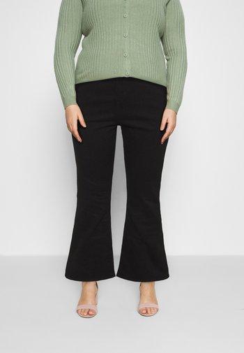 725 PL HR BOOTCUT - Bootcut jeans - black sheep