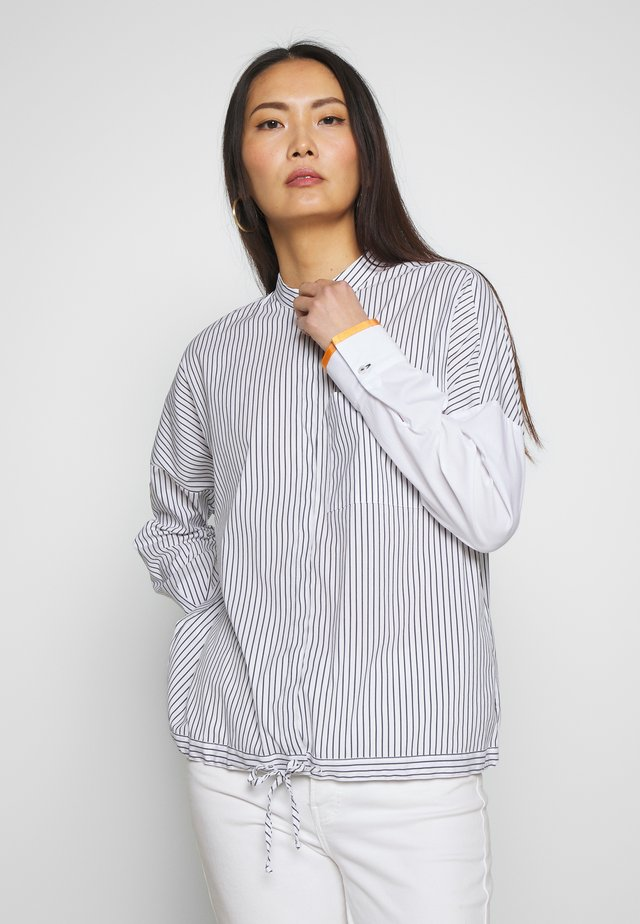 Blouse - white/navy