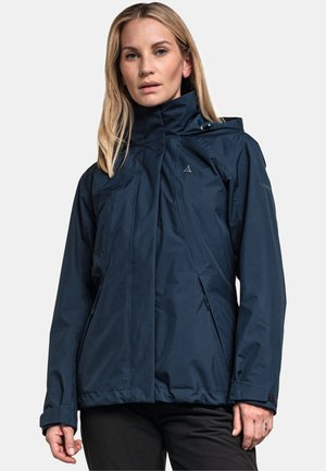 Hardshell jacket - blau