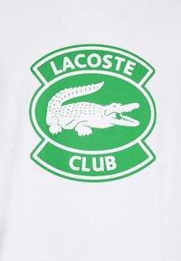 Lacoste - Printtipaita - white - 2