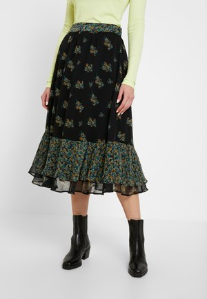 YASSHANIA MIDI SKIRT - Pencil skirt - black/shania
