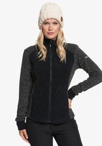 Roxy - MIT REISSVERSCHLUSS  - Fleece jacket - true black - 0
