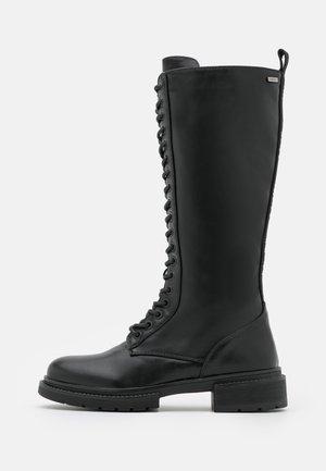 HORIZON - Lace-up boots - black