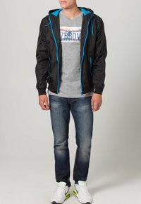 Urban Classics - Light jacket - black/turquoise - 1