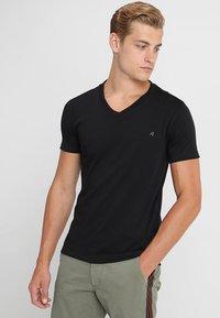 Replay - 2 PACK - T-shirt basic - black - 2