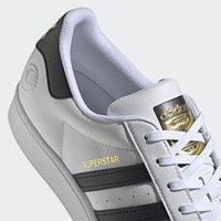 adidas Originals - SUPERSTAR VEGAN - Baskets basses - footwear white/core black/green - 10