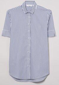 Eterna - MODERN CLASSIC - Button-down blouse - blue/White - 4