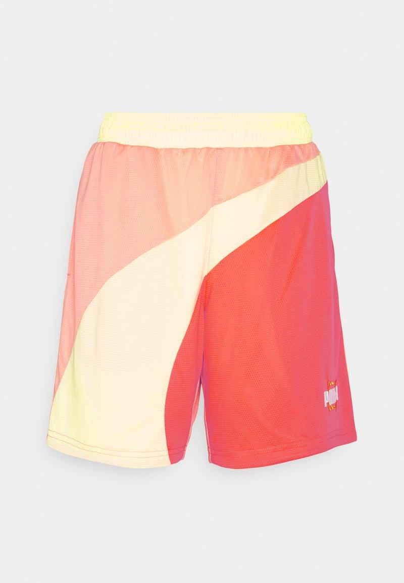 Puma - FLARE SHORT - Sports shorts - fiery coral