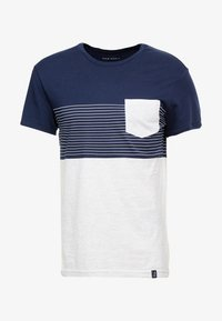 Pier One - Print T-shirt - dark blue - 4