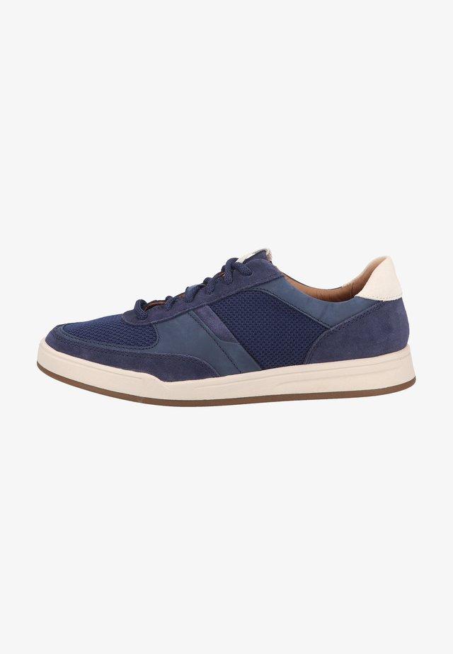 Sneakers laag - dark blue combi