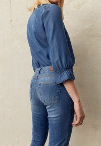 More & More - Slim fit jeans - blue denim - 1