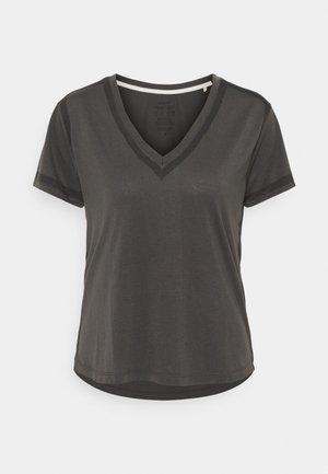 MOON WOMAN - Print T-shirt - asphalt
